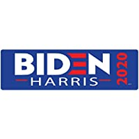 Bumper Planet - Bumper Sticker - Biden Harris - 3 x 10 inch - Vinyl Decal Professionally Made in USA