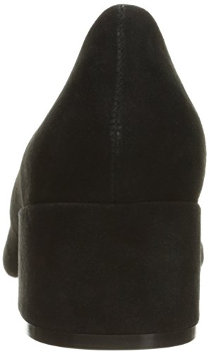 EN Madden Gamuza Negro Cormac Steve Afilado Negro Zapato S8wPcqB4