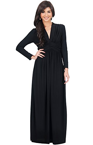 long black evening dresses size 16 - 5