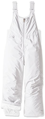 White Sierra Youth Toboggan Insulated Bib, Milky White, Small by White Sierra