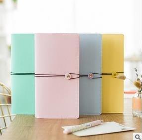 Piel sintética portátil Macaron 4 Color del viajero diario a ...