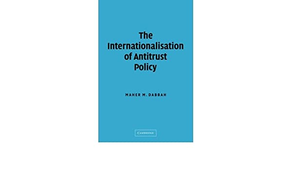 Antitrust Policy and U.S. Competitiveness