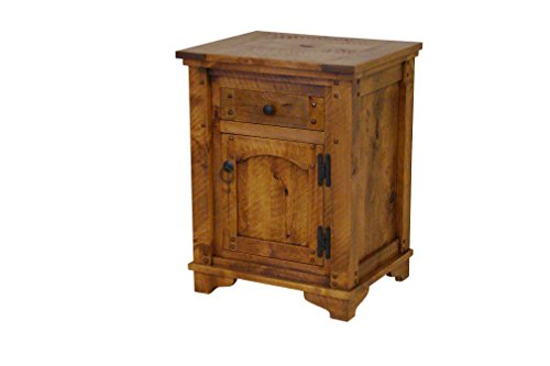 Autumn comfort solid wood nightstand.