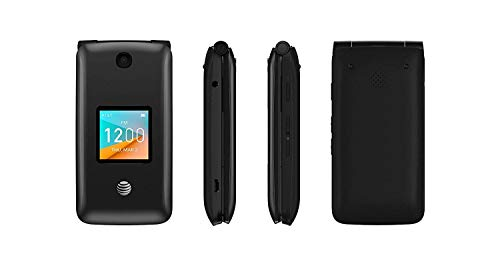 (Alcatel Cingular Flip 2 4G LTE FlipPhone Bluetooth WIFI MP3 Camera Good for Elderly - GSM)