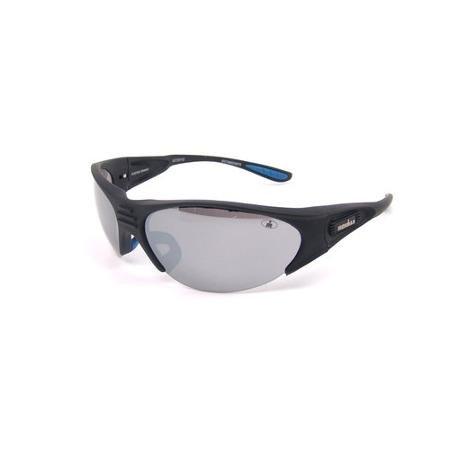 Foster Grant Ironman Sunglasses for Men Empower Black Semi Frameless - Foster Ironman Sunglasses Grant