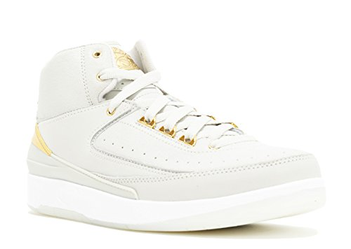 Boys' Q54 Bone Jordan Light Gold Bg 2 Nike Retro Shoes white Metallic Basketball Air UZwxda