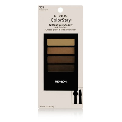 Revlon 12 Hour Colorstay Eye Shadow Quad COPPER SPICE