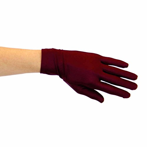 Duchess Matte Satin Wrist Length Gloves for Ladies