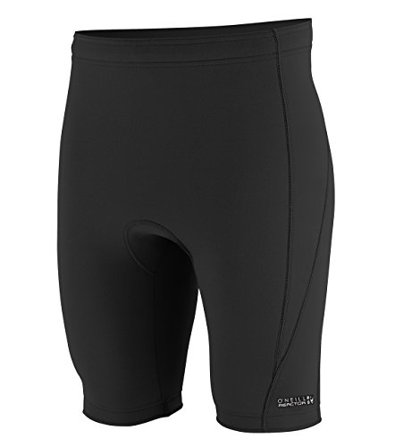 (O'Neill Men's Reactor-2 1.5mm Shorts, Black, Large)