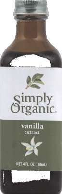 Simply Organic Vanilla Extract 4 Oz - Pack Of 1 by Simply Organic