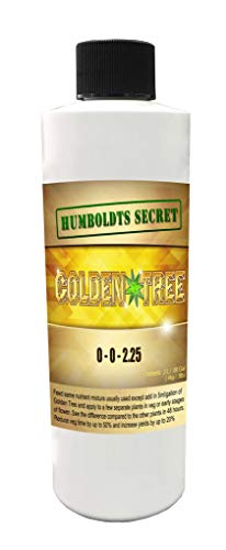 - Humboldts Secret Best Plant Food for Plants and Trees Golden Tree, Explosive Growth, Yield Increaser, Dying Plant Rescuer, Use on Flowers, Roses, Fruit, Vegetables, Tomatoes, Organic (8 Ounce)
