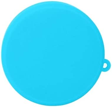 MEETBM ZIMO,Silicone Protective Lens Cover for DJI New Action Black Color : Blue