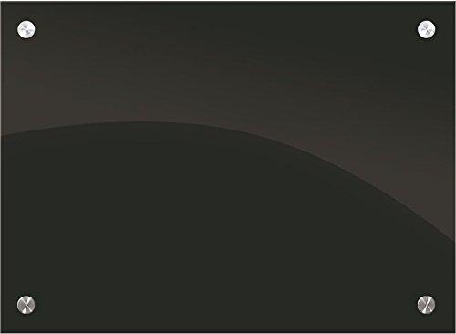 Best-Rite Enlighten ガラスホワイトボードブラック 1/8インチ 強化ガラス 1.5 X 2フィート (84072 ) 1.5 x 2 Feet B00GXMB076 1.5 x 2 Feet|ブラック ブラック 1.5 x 2 Feet