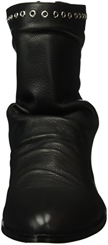 01 Ankle Black 1 Women's Boots 1412 Black 415 Leather Indios Buffalo wROvYw