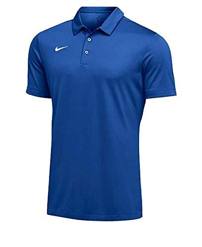 Nike Mens Dri-FIT Short Sleeve Polo Shirt (X-Large, Royal)