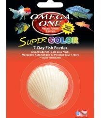 Omega One Super Color 7 Day Fish Feeder 3 pack