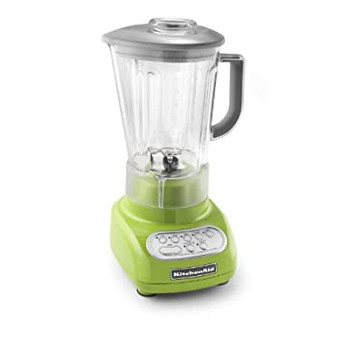 kitchenaid ksb560ga 5-Speed Green Apple Color Blender with Polycarbonate almost Unbreakable Shatter Resistant Jar and an extreamely powerful Motor