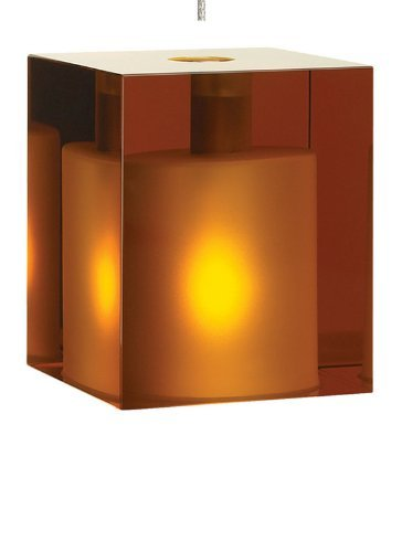 MP-Cube Pend amber, bz by Tech - Lighting Tech Cube