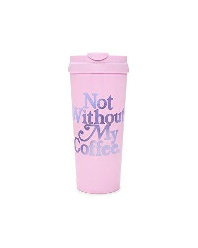 ban.do Women's Hot Stuff Thermal Mug, Not Without My Coffee,