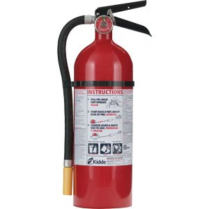 Fire Kidde Abc Extinguisher (Kidde 46611201 Pro Line 5 lb ABC Fire Extinguisher w/ Metal Vehicle Bracket)