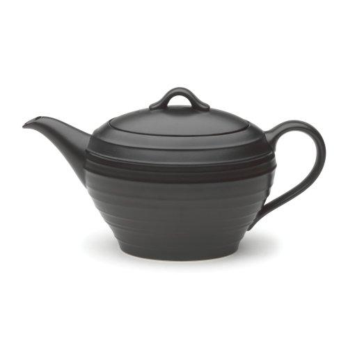 Mikasa Swirl Black Tea Server (Black Mikasa Tea)