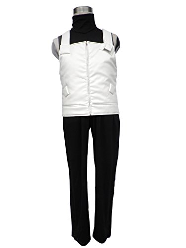 Mtxc Men's Naruto Cosplay Anbu Hatake Kakashi Uniform 2nd Size M-Plus (Kakashi Hatake Halloween Costume)