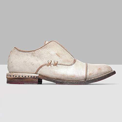 Roman Marron Rétro Single Chaussures Talon Manadlian And Plat Bottines Nouveau Pour Mode Shoes À Blanc Femmes 2019 Bottes wHqT7g7U