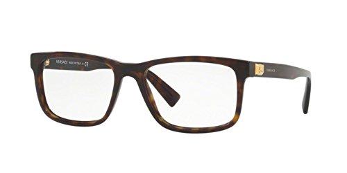Versace Men's VE3253 Eyeglasses 55mm ()