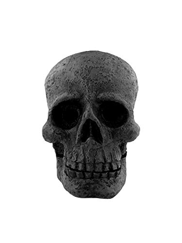 Grindstore Skull Incense Cone Holder Candles & Incense Black 8x11cm
