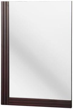Foremost ELRM1728 Ellis 25-Inch x 17-Inch Wall Mirror, Dark Walnut