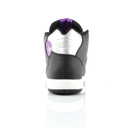 Noir Court Baskets Authentic Mid Midiru Montantes adidas 08Pp7