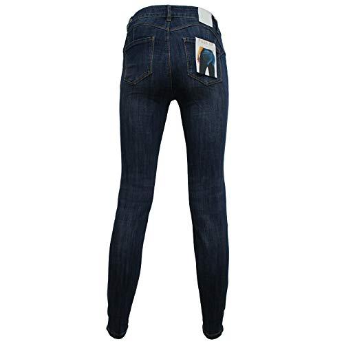 Vita Regular Donna Fit Jeans Alta Sotto Stretto xFBPn6Zfwq