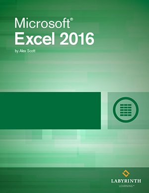 Microsoft Excel 2016: Level 2, Printed Textbook with ebook