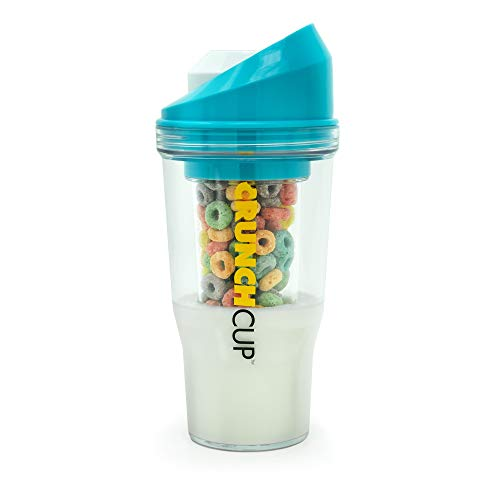 The CrunchCup® – A Portable Cereal Cup – No Spoon. No Bowl. It's Cereal On The Go.