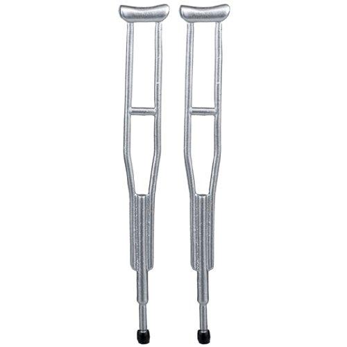 Dollhouse Miniature Pair of Crutches