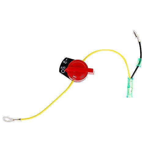 HIFROM On Off Engine Stop Switch for Honda GX120 GX160 GX200 GX240 GX270 GX340 GX390 Replace 36100-ZE1-015 36100-883-005