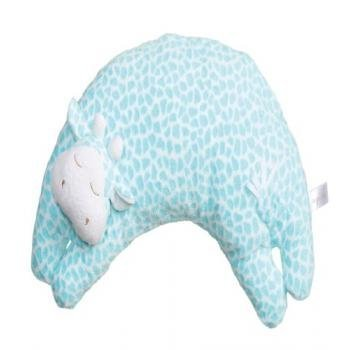 Angel Dear Curved Pillow Turquoise Giraffe by Angel Dear by Angel Dear