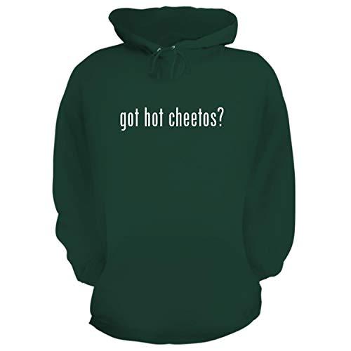 got hot Cheetos? - Graphic Hoodie Sweatshirt, Forest, Large