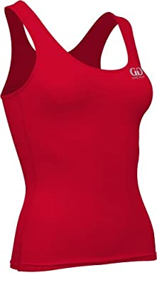 Game Gear Women's Compression Support Fitness Odor Resistant Top