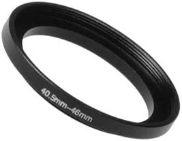 Anodized Black Metal 40.5mm-58mm 40.5-58 mm Fotodiox Metal Step Up Ring