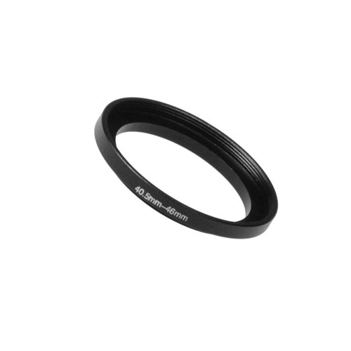 Fotodiox Metal Step Up Ring Filter Adapter, Anodized Black Aluminum 40.5mm-46mm 40.5-46 mm