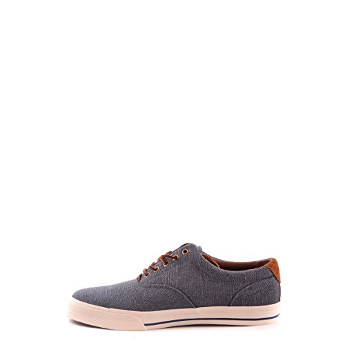 Polo Ralph Lauren hombre bajas zapatillas de deporte grises VAUGHN Azul