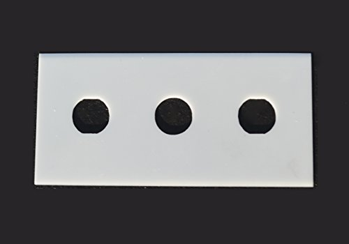 43mm x 22mm CERAMIC 3-hole Slitter Blade(1) (.3mm thick)
