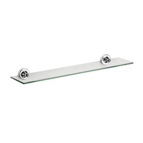 Croydex QM461441YW Worcester Glass Shelf, Chrome (Halloween In Worcester)