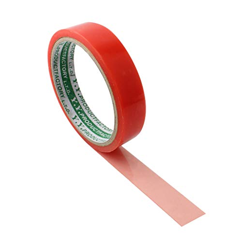 (DYNWAVE Premium Tubular Rim Tape - Double Sided Adhesive Anti-Slip Tape for Road Bike Tubular Rims - 5m Length, One Roll can Tape 2 Tires)