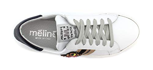 Meline Ug nastro Blu Meteorite Sneaker Beige Galaxy velam Bianco Lim 223 1SqwA1xO