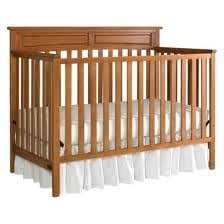 Graco Somerset Convertible Crib - Toffee