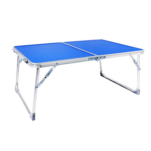 Yoport Bed Tray, Foldable Laptop Desk Table Tray, Portable Camping Table, Breakfast Tray With Legs,