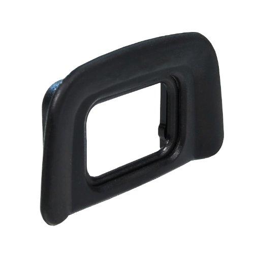 Foto&Tech 3 Pieces Replacement Rubber DK-20 Eyecup Compatible with Nikon D5500, D5300, D3400, D3300, F65, F75, D40, D50, D60, D70s, D5100, D3200, D3100, D3000 Digital SLR Cameras (3 Pieces)