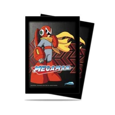 Ultra Pro Megaman Series Deck Protector sleeves featuring Protoman (50 ct.): Toys & Games